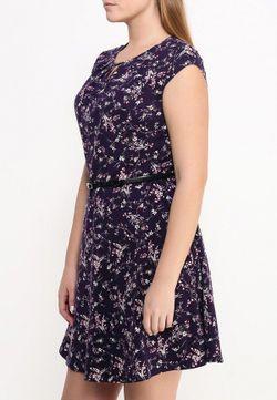 Платье Dorothy Perkins Curve                                                                                                              фиолетовый цвет