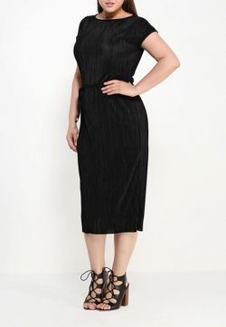 Платье Dorothy Perkins Curve                                                                                                              черный цвет