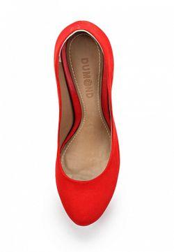Туфли Dumond                                                                                                              красный цвет