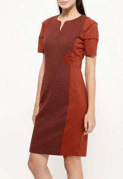 Платье D.Va                                                                                                              коричневый цвет