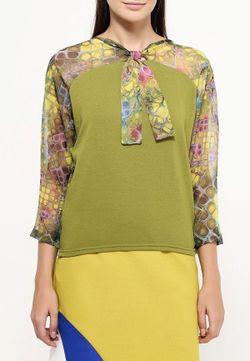 Блуза D.Va                                                                                                              зелёный цвет