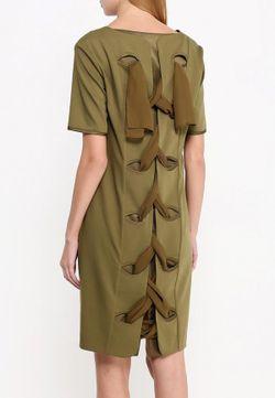 Платье D.Va                                                                                                              хаки цвет