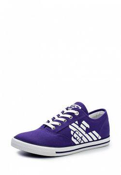Кеды EA7                                                                                                              фиолетовый цвет