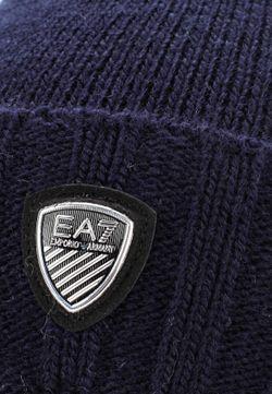 Шапка EA7                                                                                                              синий цвет
