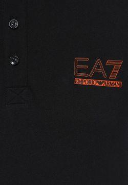 Поло EA7                                                                                                              чёрный цвет