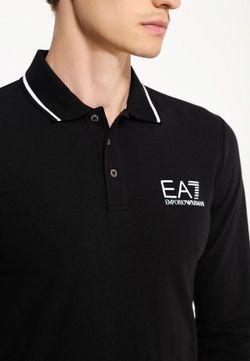 Лонгслив EA7                                                                                                              чёрный цвет