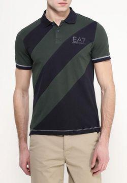 Поло EA7                                                                                                              многоцветный цвет