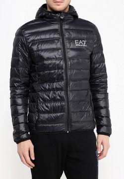 Пуховик EA7                                                                                                              чёрный цвет