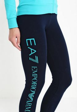 Леггинсы EA7                                                                                                              синий цвет