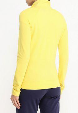 Олимпийка EA7                                                                                                              желтый цвет