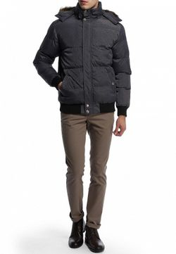 Куртка Утепленная E-Bound                                                                                                              серый цвет