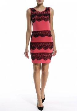 Платье Edge                                                                                                              розовый цвет