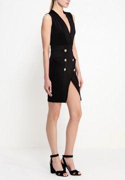 Платье Edge                                                                                                              чёрный цвет