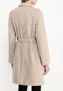 Пальто Edge Clothing                                                                                                              бежевый цвет