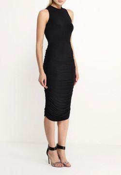 Платье Edge Clothing                                                                                                              чёрный цвет