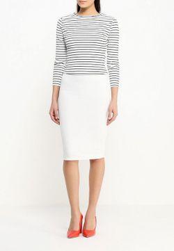 Юбка Edge Clothing                                                                                                              белый цвет