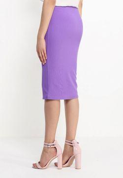 Юбка Edge Clothing                                                                                                              фиолетовый цвет