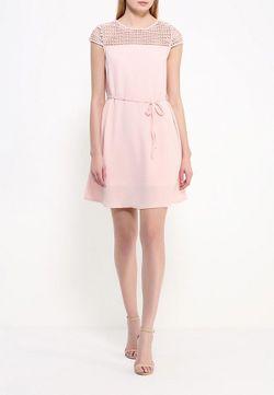 Платье Edge Clothing                                                                                                              розовый цвет