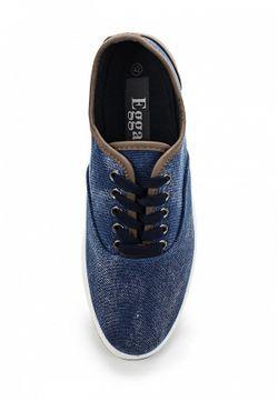 Кеды Egga                                                                                                              синий цвет