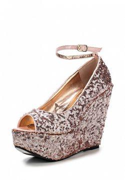 Туфли Ella                                                                                                              розовый цвет