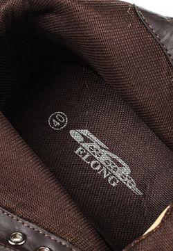 Ботинки Elong                                                                                                              коричневый цвет