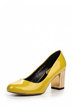 Туфли ELSI                                                                                                              желтый цвет