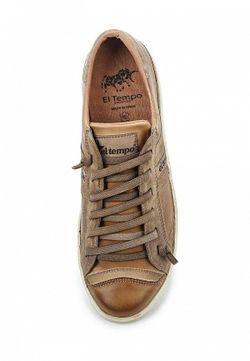 Кеды El Tempo                                                                                                              коричневый цвет