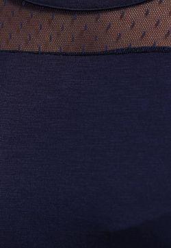 Топ Emoi Size Plus                                                                                                              синий цвет