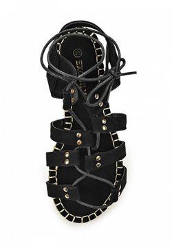 Сандалии Exquily                                                                                                              черный цвет