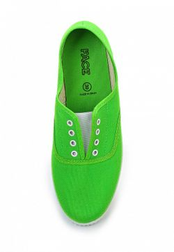 Кеды Face                                                                                                              зелёный цвет