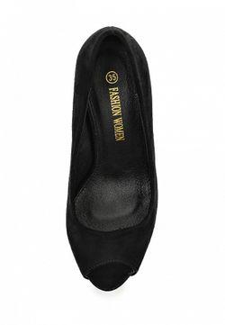 Туфли Fashion Women                                                                                                              черный цвет