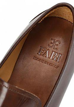 Лоферы Fabi                                                                                                              коричневый цвет