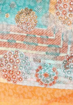 Платок Fete                                                                                                              многоцветный цвет