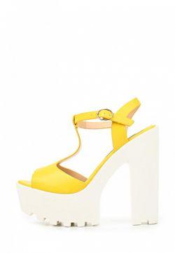 Босоножки Fersini                                                                                                              желтый цвет