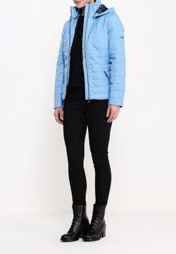 Куртка Утепленная Finn Flare                                                                                                              голубой цвет