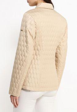 Куртка Утепленная Finn Flare                                                                                                              бежевый цвет