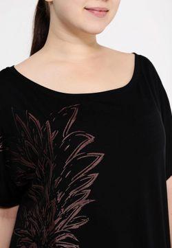 Футболка Fiorella Rubino                                                                                                              черный цвет