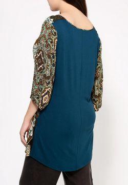 Блуза Fiorella Rubino                                                                                                              многоцветный цвет
