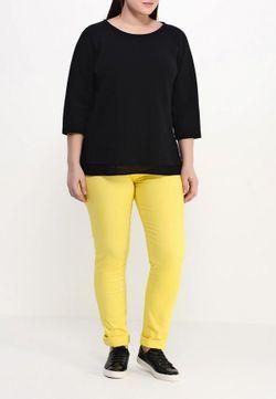 Джинсы Fiorella Rubino                                                                                                              желтый цвет