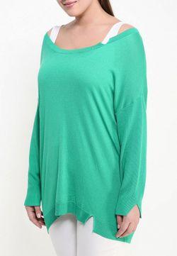 Свитер Fiorella Rubino                                                                                                              зелёный цвет