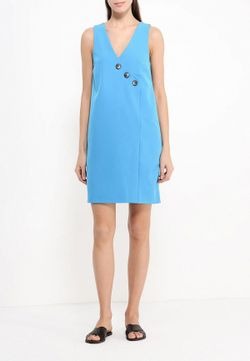 Платье Finery London                                                                                                              голубой цвет