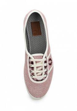 Кеды Fred Perry                                                                                                              розовый цвет