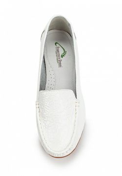 Мокасины Francesco Donni                                                                                                              белый цвет