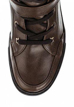 Кеды На Танкетке Francesco Milano                                                                                                              коричневый цвет