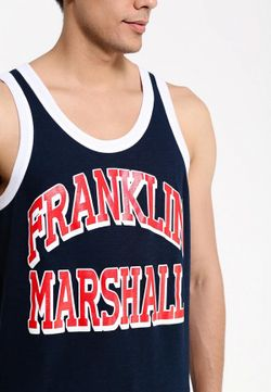 Майка Franklin & Marshall                                                                                                              синий цвет