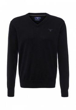 Пуловер Gant                                                                                                              синий цвет