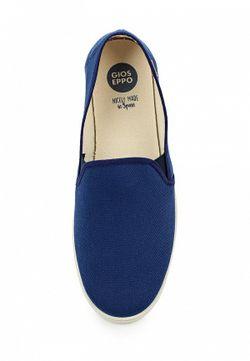 Слипоны Gioseppo                                                                                                              синий цвет