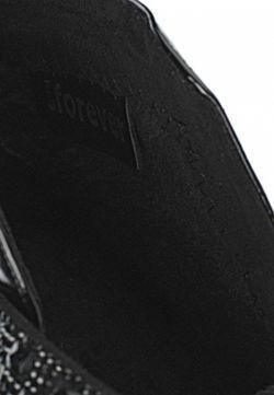 Кеды На Танкетке GLAMforever                                                                                                              черный цвет