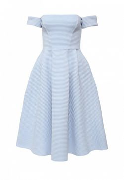 Платье Goddiva                                                                                                              голубой цвет