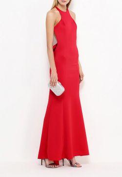 Платье Goddiva                                                                                                              красный цвет